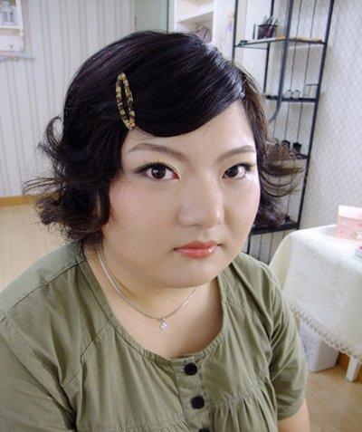 女胖子适合什么刘海 胖的人适合斜刘海吗