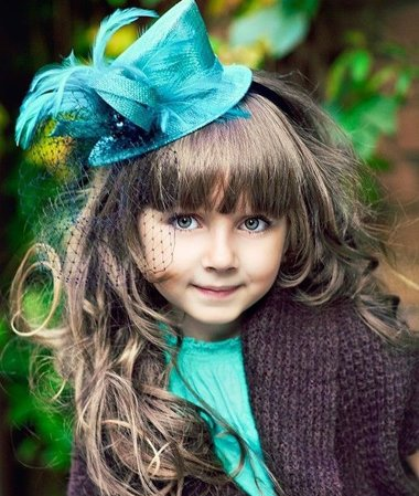 超萌女宝宝短发发型 儿童如何梳发型图片