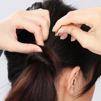 小女生可爱发型图片 小女生扎头发的方法图解