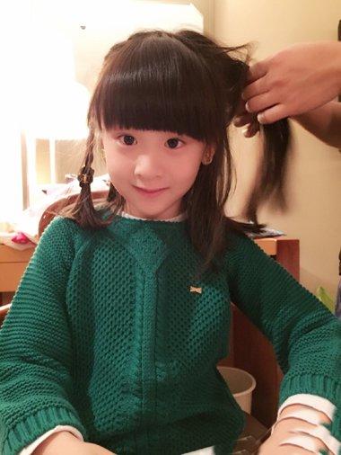 头发少的女生适合变什么辫子 头发少的小孩子头发的绑法