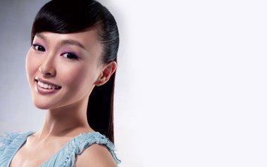 唐嫣果真是天生丽质 长发下的她更美