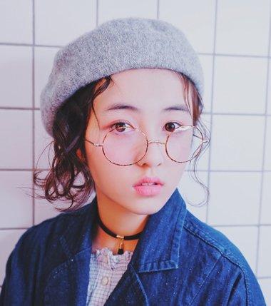 河南女孩张子枫的日系发型 好发型是不分国度的