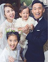 黄磊老婆怀三胎 再又升级爸爸的他潮流发型走起
