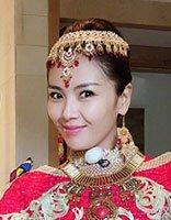 刘涛奔跑吧穿公主装 气质盘发似女王