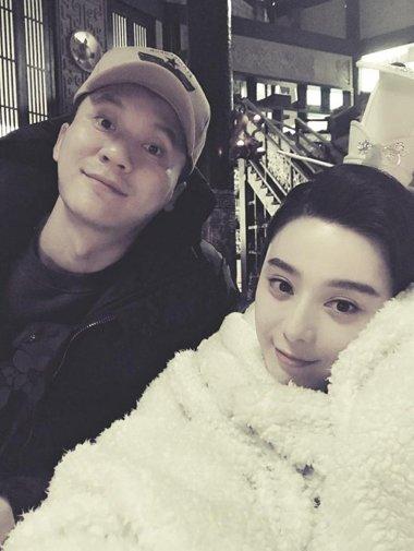 范冰冰和李晨下月要结婚 女神的长发最抢镜