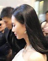 刘诗诗齐肩发搭配薄纱裙 绝美内扣耀人眼