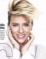 斯嘉丽・约翰逊最新杂志封面拍摄 梦露穿越时空而来的短发