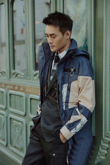 王凯时尚大片登杂志双封 彰显轻熟男魅力发型设计