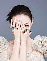 倪妮芭莎珠宝发型 离漂亮只差一款丸子头
