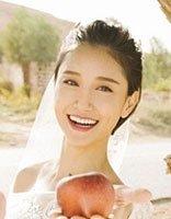 方脸艺人陈彦妃宣布结婚了 婚纱照原来也爱梳盘发