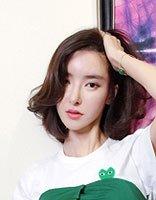 车模李颖芝的居家发型 长发和中长发谁更美
