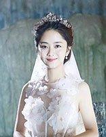 狐狸的夏天放福利 谭松韵首拍婚纱照发型