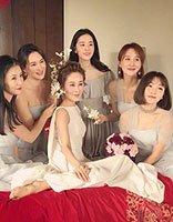 周扬的婚礼伴娘成亮点 婚礼跟拍伴娘发型