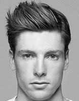 男生背头与卷发碰撞帅到没朋友 男士卷发背头发型图片