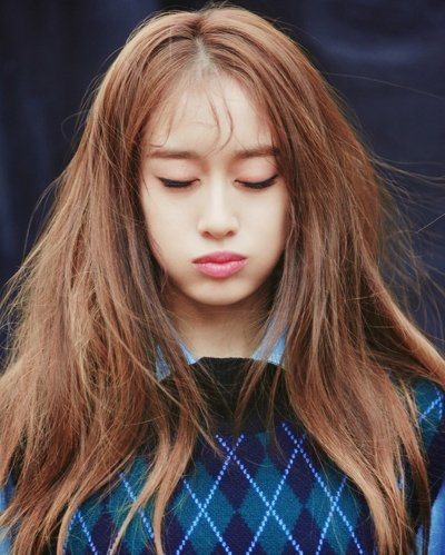 空气八字刘海+韩系自然卷发 女生秒变软萌小仙女的秘密武器