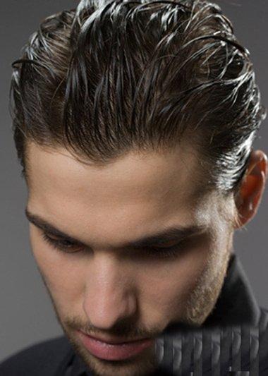 欧美油头造型_欧美油头发型 打理男生短发教程