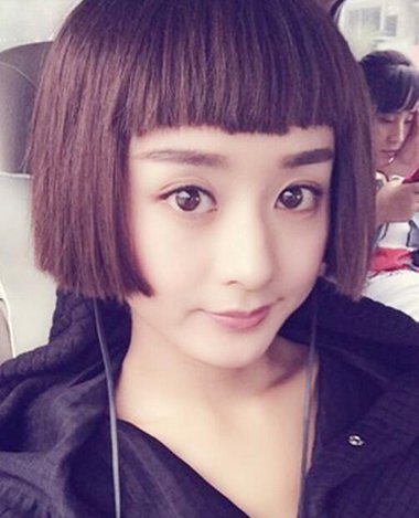 赵丽颖锁骨发图片 有刘海的发型2018世界杯体育投注平台吗