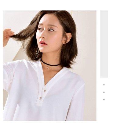 什么叫锁骨发 韩式学生发型