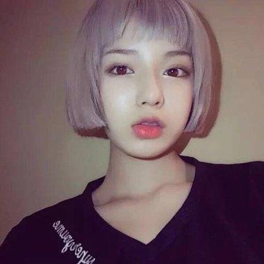 露眉毛短刘海造型 女生2018世界杯体育投注网站剪学生头图片