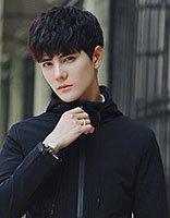 青年男生帅气造型 社会小伙霸气发型