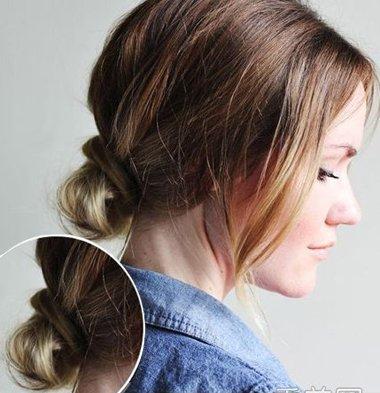 中年女士欧式盘头发 教你盘欧美风格头发