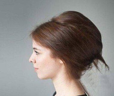 头发打毛怎么盘起来 盘头发打毛的方法