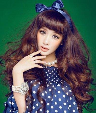 日式女生长发二次元发型 女孩子二次元发型图片