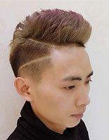 男士寸头刀疤发型图片 寸头发刀疤型图片