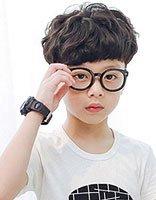 害羞的西瓜头小男孩发型 儿童西瓜头发型图片