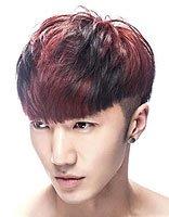 韩式纹理花子头图片 青少年小纹理花子头