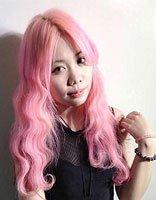 怎么染粉色头发 天然粉色头发打破沉闷