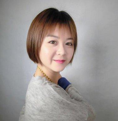 大脸女生适合的波波头发型图片没必要这么折腾 大圆脸女生波波头发型图片轻松营造小脸视觉