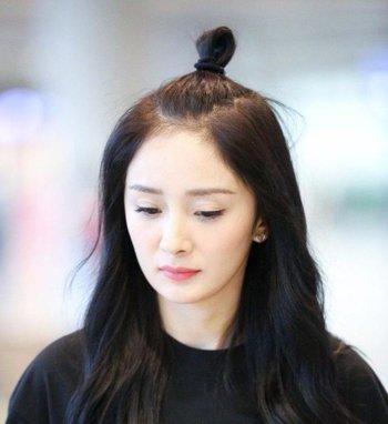 韩式苹果头怎么扎 中长发女生扎苹果头发型