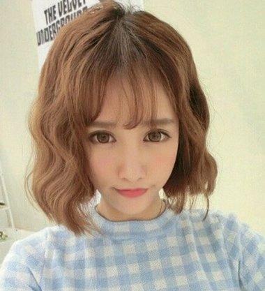 韩国蛋糕卷发型 女生蛋卷发型图片2018世界杯体育投注网站