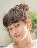 韩国女生花苞头盘发方法 2018韩式发型教程