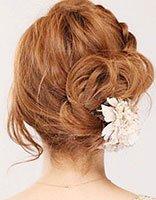 有关盘发发型的步骤教程 最新女生盘头发图文讲解