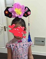 儿童旗头diy手工制作方法 娃娃简单旗头制作方法