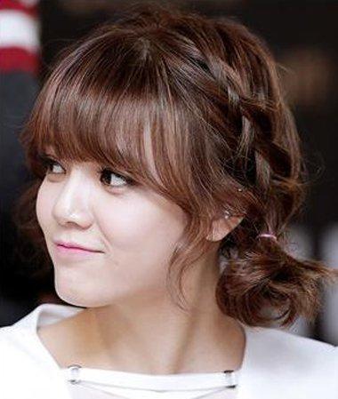 下面头发短如何处理 韩国人怎么打理头发