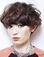 蘑菇头梨花烫内扣图片 蘑菇头头适合什么脸型