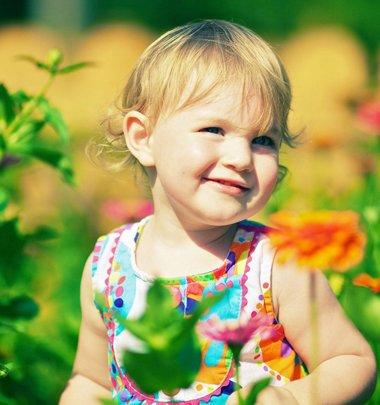 婴幼儿女宝宝的发型 1-2岁女宝宝发型设计