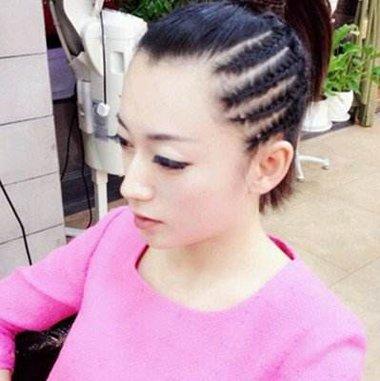 跳爵士舞没有刘海绑什么头 不带刘海的扎头发