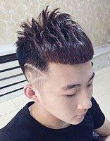 现在流行在头发上刻什么图案 现在初中生流行的图案头发