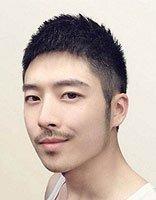 韩式凌乱的发鬓 秃鬓角可以剪韩版毛寸么
