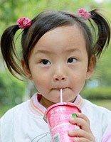 儿童扎羊角怎样扎 羊角辫韩式扎发