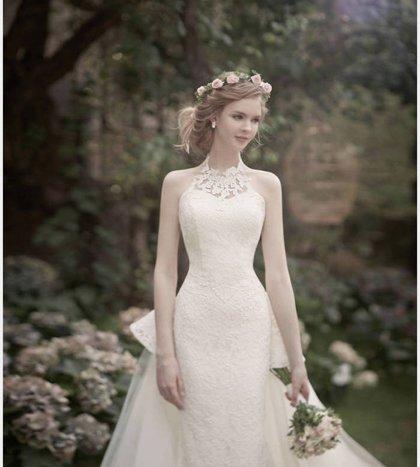 2018年最流行的白纱造型 2018韩式新娘白纱造型
