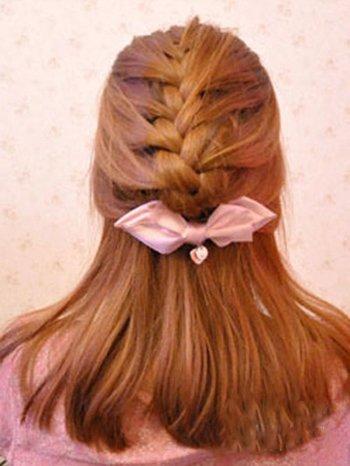 时尚蝎子辫辫法 蝎子辫漂亮时尚的编发方法