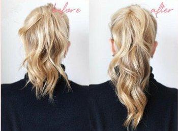 中等长度头发的扎头法 中等头发的各种扎法