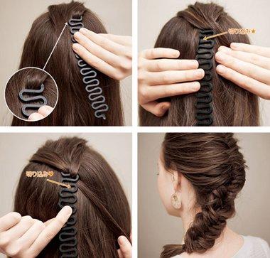 怎样编辫子最方便 最方便梳辫子的工具