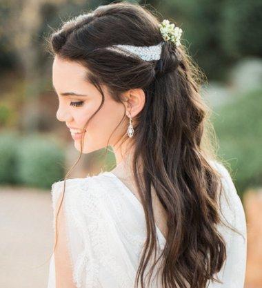 2018新娘美丽发饰集锦 美丽可爱的新娘造型