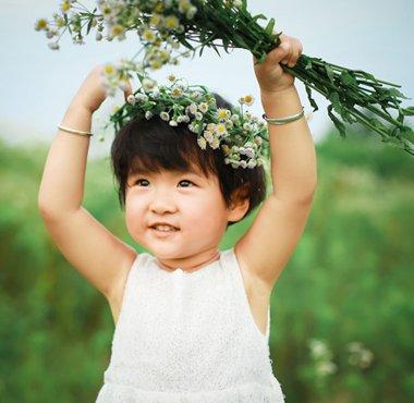 孩子们的蘑菇头怎么留 可爱女宝宝蘑菇头发型